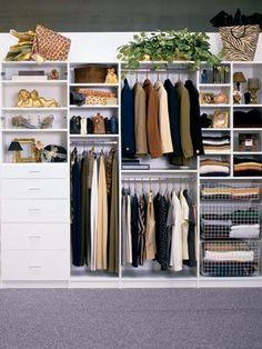 closet storage solutions #closet #organizing