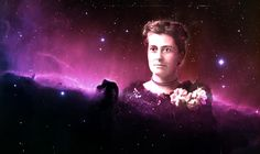 """Williamina Fleming started her astrology career as a housekeeper then secretary at Harvard's Observatory. She invented a star cataloging system, discovered more than 10,000 stars, discovered over 50 nebulae including the Horsehead Nebula and penned the term """"white dwarfs"""" which our sun will eventually become. She published a book containing data on over 200 variable stars and influenced the employ of an entire team of women known as the """"Harvard Computer's."""""""