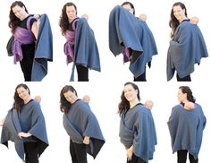 Maternity/Babywearing poncho... I kinda already have one of these... just need to alter the one I have