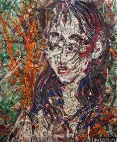 фото: Картина Автопортрет живопись Self-portrait | фотограф: | WWW.PHOTODOM.COM Self-portrait http://lavizm.ru/ #LAVIZM Ekaterina Lebedeva #followback Contemporary #Art