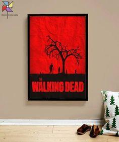 Quadro Ilustração The Walking Dead Série Tamanho A3 - R$ 69,00 em Mercado Livre