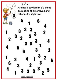 Number Writing Practice, Writing Numbers, Alphabet Tracing Worksheets, Math Worksheets, Learning The Alphabet, Math For Kids, Pre School, Preschool Activities, Teaching