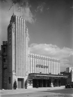 Long before the days of multiplexes, blockbusters and 3D films, Odeon cinema commissioned architectural photographer John Maltby in the 1930s to capture images of some high street gems
