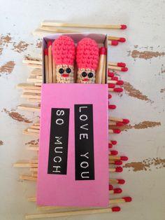 crochet lucifers :D #barbante #tektekyarn