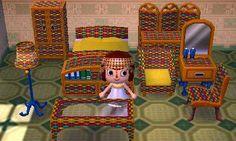 Animal Crossing Custom Cabana Set Rainbow Colorful