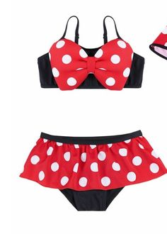 Adorable for your little Minnie Mouse fan! For sale on Etsy.