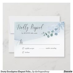 Wedding Rsvp, Wedding Invitation Suite, Wedding Stationery, Elegant Wedding, Beautiful Calligraphy, Response Cards, Simple Weddings, Zazzle Invitations, Hand Lettering