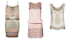 Flapper style dresses for Flamboyant Gamine. Typ urody Flamboyant Gamine – ekstrawagantka