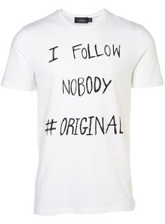 "T-shirt ""I follow nobody #original"" - Topman"