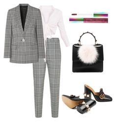 """Office Look."" by cybertrasher ❤ liked on Polyvore featuring Alexander Wang, Gucci, Les Petits Joueurs, Puma, office, ootd, Luxe and fashionset"