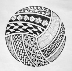 Volleyball Drawing