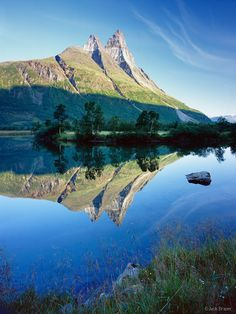 Otertind, Norway, reflection