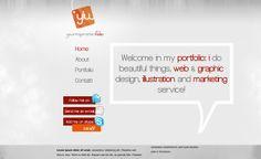 Good One page Portfolio One Page Portfolio, Portfolio Web Design, Web Design Agency, Web Design Gallery, List Of Resources, First Page, Web Design Inspiration, Web Development, Layout Design