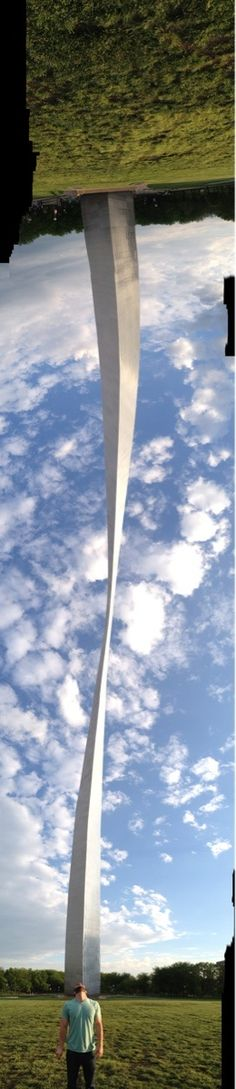 Did you know? The Gateway Arch in St. Louis is an optical illusion... it's as wide as it is tall.