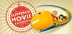 Regal's popular Summer Movie Express program is back for 2015. The program will run for 9 weeks with select titles playing on Tuesdays and Wednesdays throughout the ...