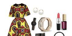 Idée de look - Ensemble jupe et top Diyanu - Pagnifik
