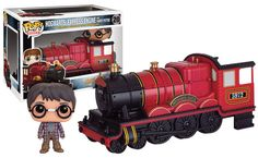 Harry Potter POP! Rides Vinyl Fahrzeug mit Figur Hogwarts Express Engine & Harry Potter 12 cm