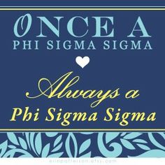 once a phi sigma sigma, always a phi sigma sigma