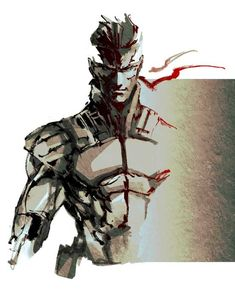 solid snake by ikuyoan on DeviantArt