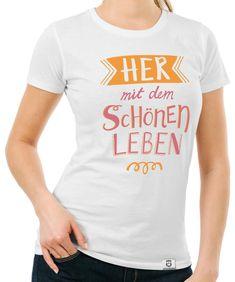 läuft Damen T-Shirt Funshirt Spruchshirt Shirt Fun bei dir meme kult mir top neu
