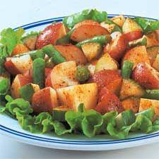 Green Beans, Potato & Ham Skillet