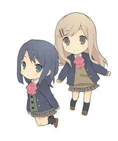 Mikasa, Yuri Anime, Matching Pfp, Light Novel, Manga, Shoujo, Kawaii Anime, Fan Art, Drawings