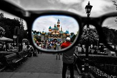 maybe not at Disneyland but I'm going to take a picture like this one day.