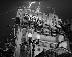 The Hollywood Tower Hotel at Disney's California Adventure ...