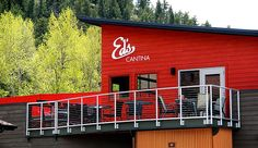 Ed's Cantina in Estes Park, CO. Photo by Ali Pfenninger
