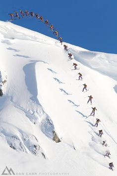 23 Skiers by Dan Carr, via 500px; Riley Leboe in Whistler Backcountry, British Columbia