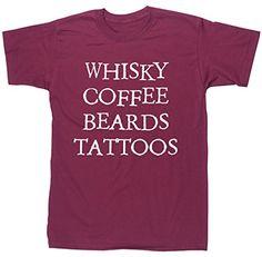 HippoWarehouse WHISKY COFFEE BEARDS TATTOOS unisex short sleeve t-shirt HippoWarehouse http://www.amazon.co.uk/dp/B00W3P3IOA/ref=cm_sw_r_pi_dp_5XA6vb1JZD4NN