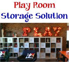 Home Decor Tip: Play Room Storage Solution! #organizing #organization