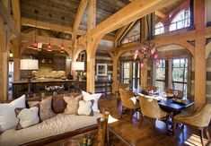 Cabin Fab....spectacular great room