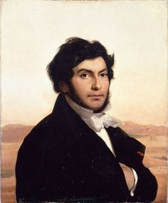 Jean-François Champollion, by Léon Cogniet - Jean-François Champollion (1790–1832) was a French scholar, philologist & orientalist, decipherer of the Egyptian hieroglyphs. Champollion published the first translation of the Rosetta Stone hieroglyphs in 1822, showing that the Egyptian writing system was a combination of phonetic & ideographic signs. Exhausted by his labours during & after his scientific expedition to Egypt, Champollion died of a stroke in Paris in 1832 at the age of 41.