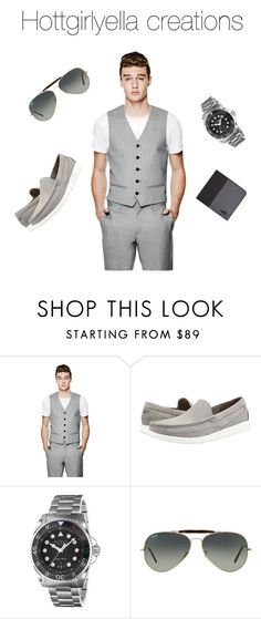 """""""Fly guys!"""" by hottgirlyella ❤ liked on Polyvore featuring GUESS, UGG, Gucci, Ray-Ban, Hogan, men's fashion and menswear"""