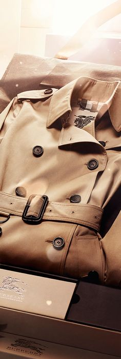 A Burberry Bespoke trench coat - the ultimate gift for someone special