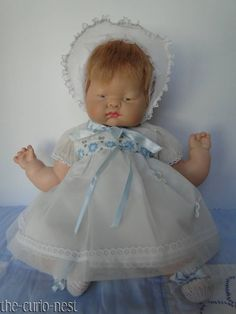 """BEAUTIFUL RARE and HARD TO FIND Musical 16"""" Vogue BABY DEAR Eloise Wilkin Doll #VOGUE"""