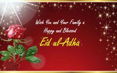 Wish your and near and dear ones with this Eid Mubarak greeting card. Free online Eid Mubarak On Eid ul-Adha ecards on Eid ul-Adha Eid Mubarak Card, Eid Mubarak Greeting Cards, Eid Mubarak Greetings, Ecards, Blessed, Christmas Ornaments, Holiday Decor, Happy, Xmas Ornaments