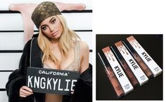 Kylie Jenner: A poderosa rainha dos batons em mais um lançamento.