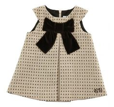bow & dots = classic baby girl