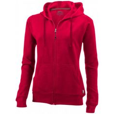 Open damessweater met capuchon en volledige rits