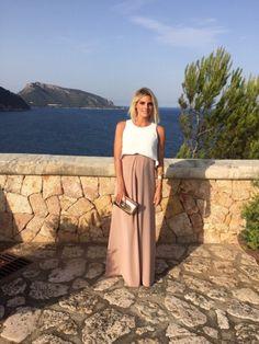 Amaia Salamanca. Inspiración vestido fiesta embarazada