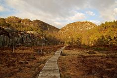 Path to climb the Preikestolen, Norway by Europe Trotter on 500px