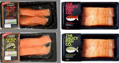 Supermarkets may be forced to remove 'copycat' products Gourmet Food Store, Gourmet Recipes, Food Packaging, Simple Packaging, Packaging Design, Wholesale Food, Food Stickers, Salmon Fillets, Creative Food