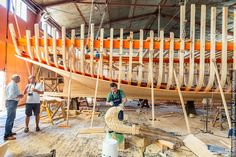 Varyag, These are the pictures from the shipyard in Karelia where unique wood ships are still built. In fact the shipyard is unique too - there is no other place in Russia like this. Here they design and make wood cruising sailboats, training sailboats, pleasure sail and motor boats, tourist and fishing boats, marine boats of YAL-2, YAL-4, YAL-6 types, recreational rowed and sailed boats, traditional Russian boats.