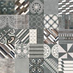Mutina Patchwork Nero - Design Tiles