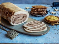 Sylterull Pork Roll, Norwegian Food, Lchf, Rolls, Food And Drink, Cookies, Breakfast, Desserts, Christmas