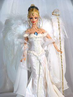 Angel bride. Tonner OOAK Barbie doll www.theplexusblog.com www.fitandskinny.myplexusproducts.com www.myplexusproducts.com/johnexley