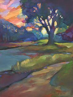 Louisiana Edgewood Art Paintings by Louisiana artist Karen Mathison Schmidt: March 2015