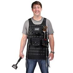 ThinkGeek :: Tactical Chef Apron